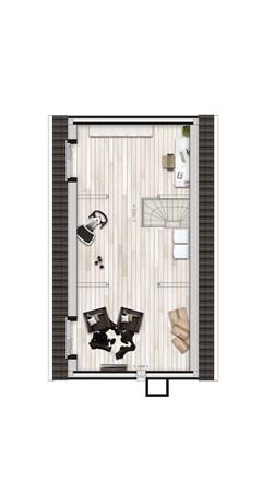 Floorplan - Griftdijk Bouwnummer 26, 6515 AE Nijmegen