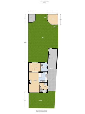 Floorplan - Vleugelmorgenstraat 28, 6171 NP Stein