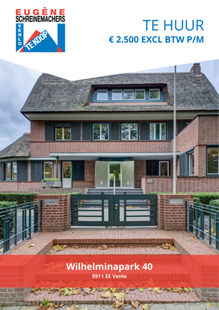 Brochure preview - Wilhelminapark 40, 5911 EE VENLO (1)