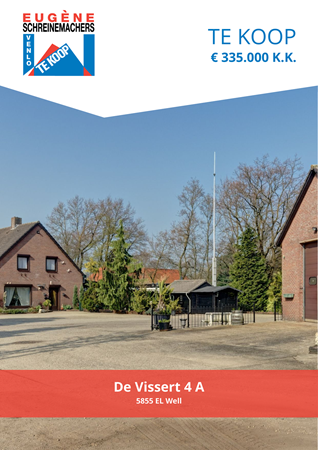 Brochure preview - De Vissert 4-A, 5855 EL WELL (1)