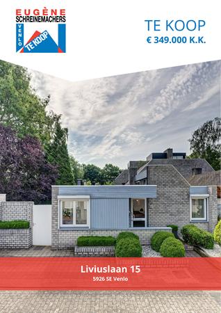 Brochure preview - Liviuslaan 15, 5926 SE VENLO (1)