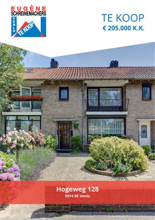 Brochure preview - Hogeweg 128, 5914 BE VENLO (1)