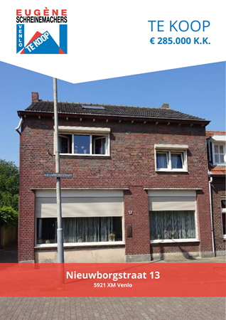 Brochure preview - Nieuwborgstraat 13, 5921 XM VENLO (1)