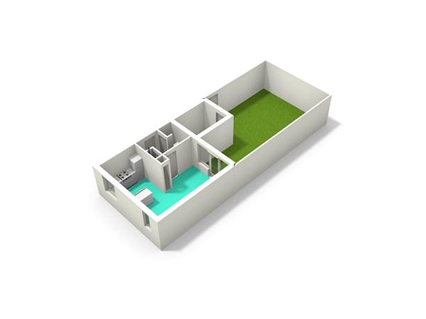Floorplan - Kamelenspoor 404, 3605 TD Maarssen