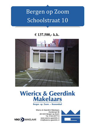 Brochure preview - dd schoolstraat 10 boz