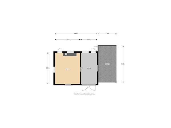 Floorplan - Schottershuizen 19, 7921 TJ Zuidwolde