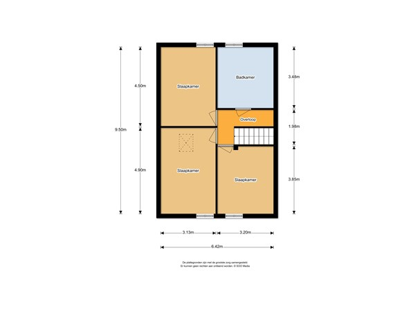 Floorplan - Lhee 42, 7991 PH Dwingeloo