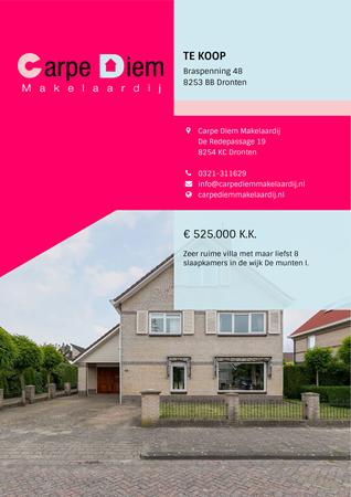Brochure preview - Braspenning 48, 8253 BB DRONTEN (1)