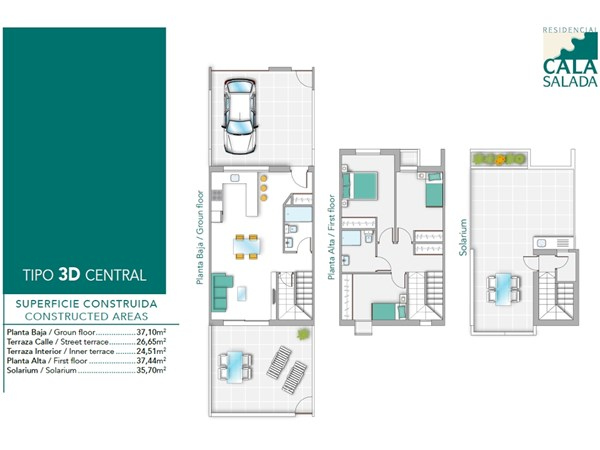 Floorplan - Calle Madamme Curie, 03183 Torrevieja