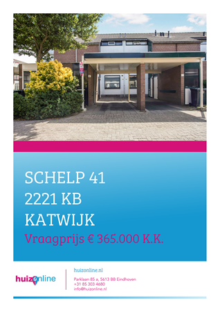 Brochure preview - Schelp 41, 2221 KB KATWIJK (1)