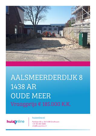 Brochure preview - Aalsmeerderdijk 8, 1438 AR OUDE MEER (1)