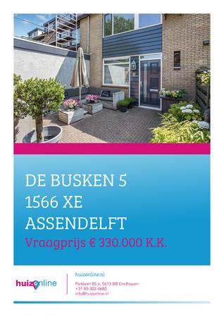 Brochure preview - De Busken 5, 1566 XE ASSENDELFT (1)