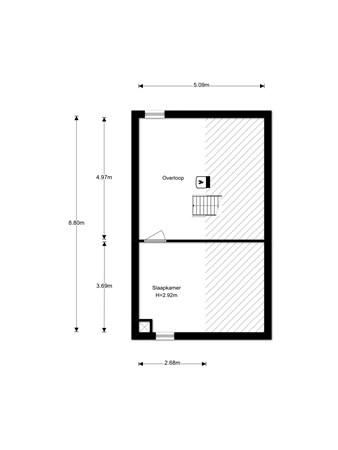Floorplan - Linebeamleane 10, 9051 SV Stiens