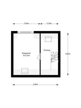 Floorplan - Kastanjelaan 16, 1702 JG Heerhugowaard