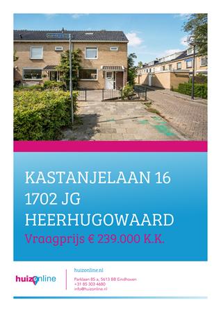 Brochure preview - Kastanjelaan 16, 1702 JG HEERHUGOWAARD (1)