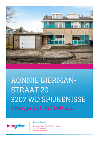 Brochure preview - Ronnie Biermanstraat 20, 3207 WD SPIJKENISSE (1)