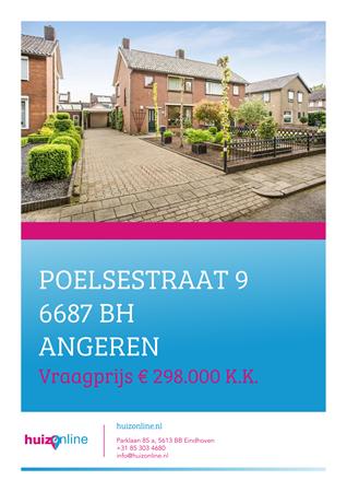 Brochure preview - Poelsestraat 9, 6687 BH ANGEREN (1)