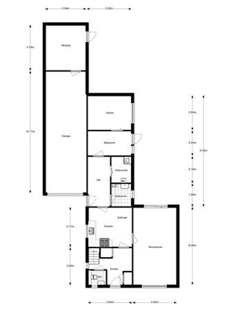 Floorplan - Torenbaan 33B, 4726 AW Heerle