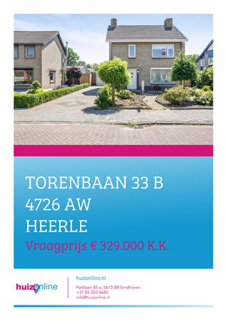 Brochure preview - Torenbaan 33-B, 4726 AW HEERLE (1)