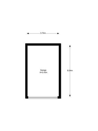 Floorplan - van der Werffstraat 268, 3132 WJ Vlaardingen