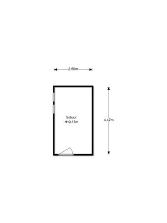 Floorplan - Zonnebloemhof 6, 5482 RS Schijndel