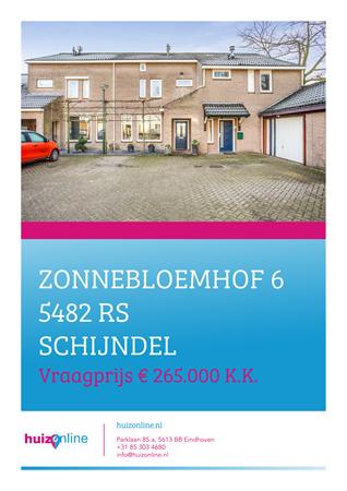 Brochure preview - Zonnebloemhof 6, 5482 RS SCHIJNDEL (1)