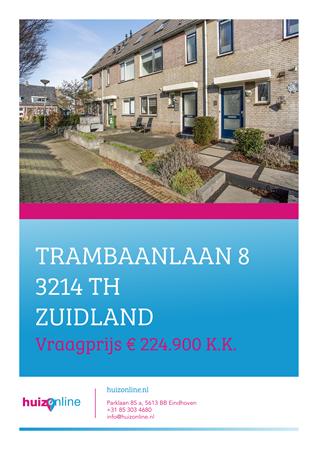 Brochure preview - Trambaanlaan 8, 3214 TH ZUIDLAND (1)
