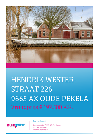 Brochure preview - Hendrik Westerstraat 226, 9665 AX OUDE PEKELA (1)