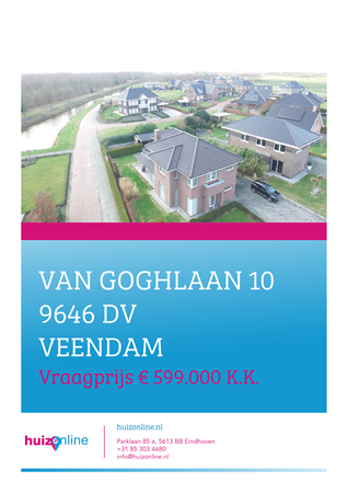 Brochure preview - Van Goghlaan 10, 9646 DV VEENDAM (1)