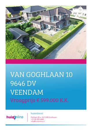 Brochure preview - Van Goghlaan 10, 9646 DV VEENDAM (1)
