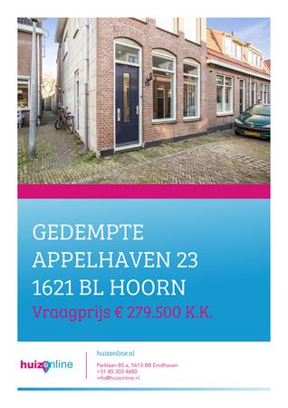 Brochure preview - Gedempte Appelhaven 23, 1621 BL HOORN (1)
