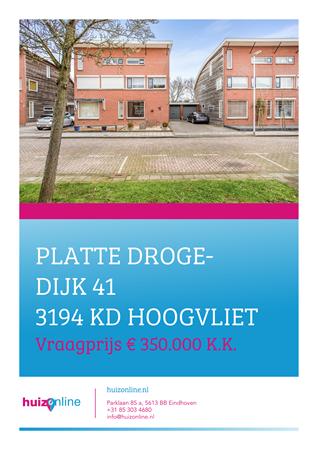 Brochure preview - Platte Drogedijk 41, 3194 KD HOOGVLIET ROTTERDAM (1)