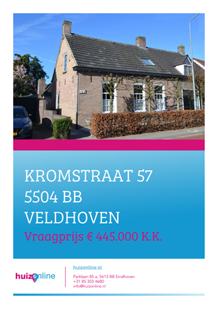 Brochure preview - Kromstraat 57, 5504 BB VELDHOVEN (1)