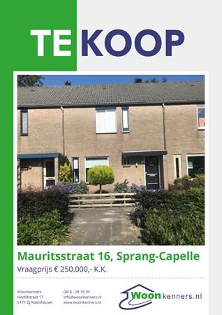 Brochure preview - Mauritsstraat 16, 5161 JA SPRANG-CAPELLE (3)