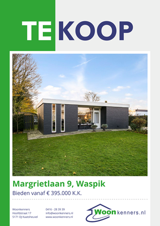 Brochure preview - Margrietlaan 9, 5165 TA WASPIK (2)