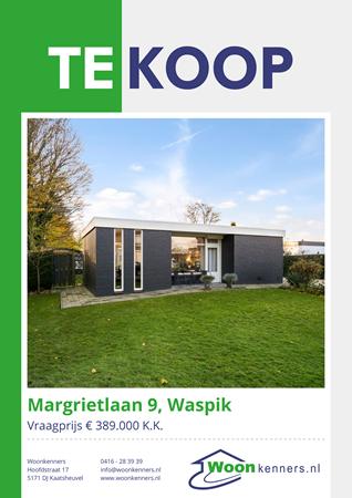 Brochure preview - Margrietlaan 9, 5165 TA WASPIK (1)