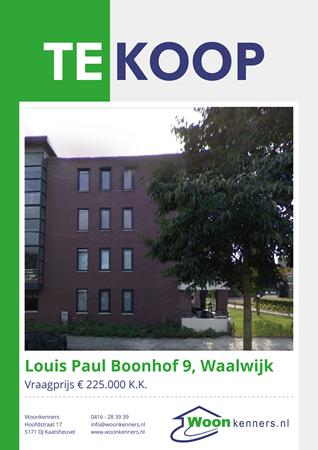 Brochure preview - Brochure - Louis Paul Boonhof 9 - Waalwijk.pdf