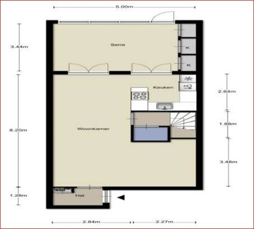 Floorplan - Eem 6, 5172 BZ Kaatsheuvel