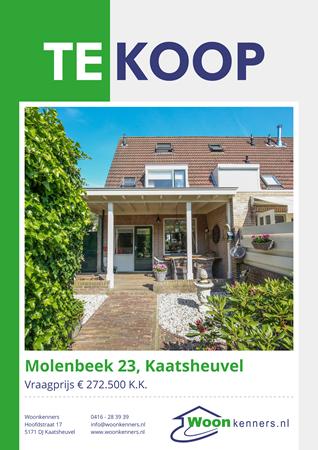 Brochure preview - Molenbeek 23, 5172 CH KAATSHEUVEL (1)