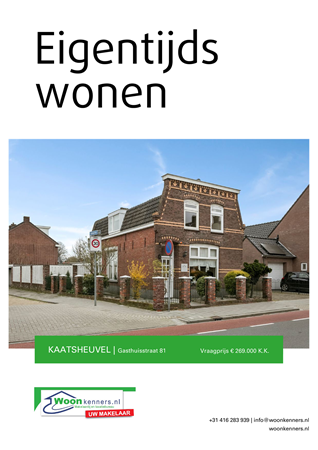 Brochure preview - Gasthuisstraat 81, 5171 GD KAATSHEUVEL (1)