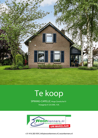 Brochure preview - Hoge Zandschel 9, 5161 RL SPRANG-CAPELLE (1)