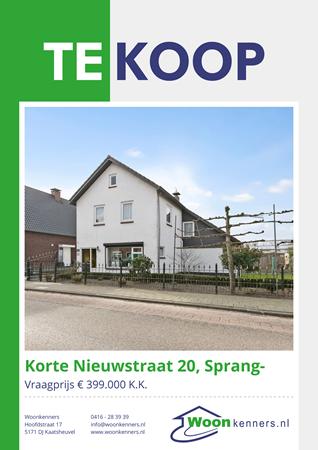 Brochure preview - Korte Nieuwstraat 20, 5161 GP SPRANG-CAPELLE (1)