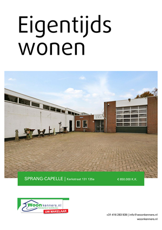 Brochure preview - Kerkstraat 131-135a, 5161 EC SPRANG-CAPELLE (1)