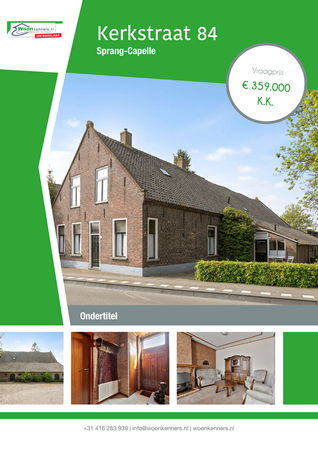 Brochure preview - Kerkstraat 84, 5161 EE SPRANG-CAPELLE (2)