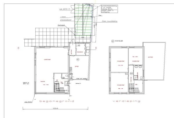 Floorplan - Europalaan-Noord 18B, 6021 EH Budel