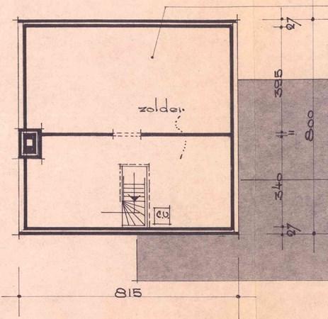 Floorplan - Deken van Baarsstraat 24, 6021 BH Budel