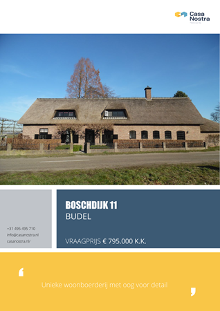 Brochure preview - Boschdijk 11, 6021 AM BUDEL (1)