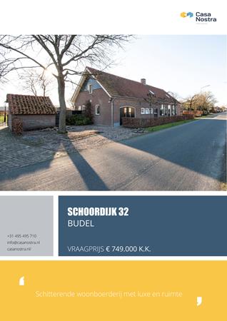 Brochure preview - Schoordijk 32, 6021 RN BUDEL (2)
