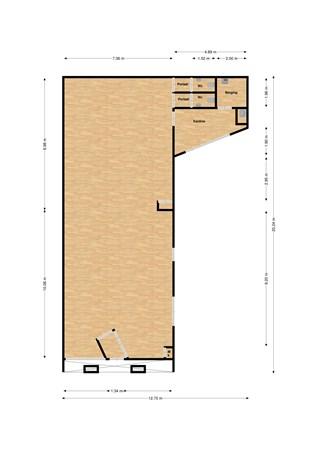Floorplan - Aan de Greune Paol 13, 6127 BH Grevenbicht