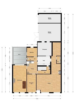 Floorplan - Aan de Greune Paol 15, 6127 BH Grevenbicht